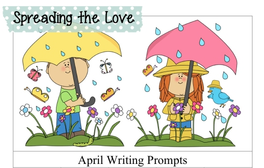 April Writing Prompts Freebie