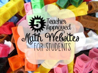 5 Teacher Approved Math Websites for Students